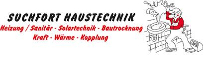 Suchfort Haustechnik - Logo